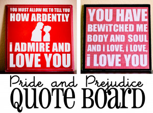 So this quote board has two sides! I can flip the board over whenever ...