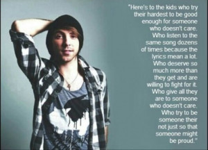 alex gaskarth quotes | via Tumblr