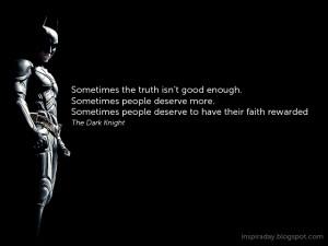 Batman Quotes Inspirational Batman quotes .