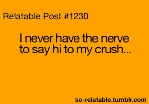 funniest crush quote, funny crush quote