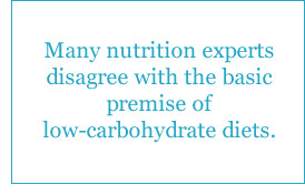 ... low carbohydrate diets the notion that high carbohydrate low fat diets