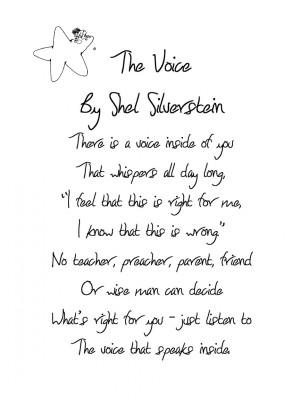 Home Audio Sound Onomatopoeia Poems Shel Silverstein