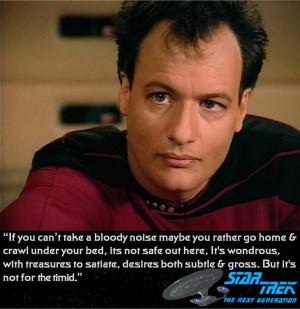 Star Trek The Next Generation Q Who quote by ENT2PRI9SE