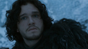 Kit+Harington+and+Rose+Leslie+as+Jon+Snow+ad+Ygritte+on+Game+of ...