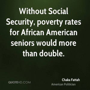 Without Social Security, poverty rates for African American seniors ...