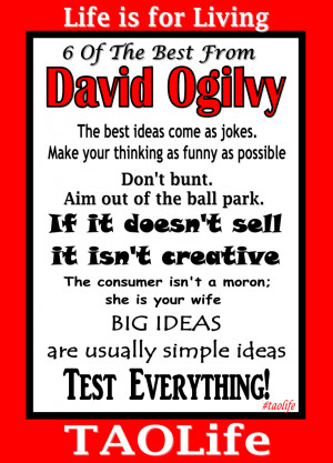 great quotes from david ogilvy david ogilvy