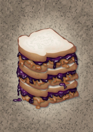 Peanut Butter And Jelly Sandwich...