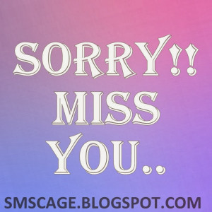 Sorry SMS Messages For Girlfriend - Sorry Quotes in Hindi