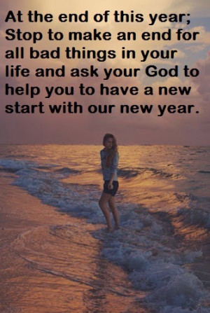 Quotes and Sayings Ask God For New Start With Our New Year