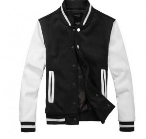 High Quality Mens Casual Classic Simple Design Letterman Jackets For