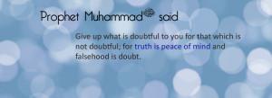 Saying of prophet muhammad pbuh