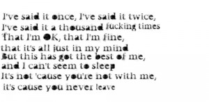 It Never Ends - Bring Me The Horizon