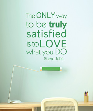 Belvedere Designs Grass Green 'Love What You Do' Wall Quote