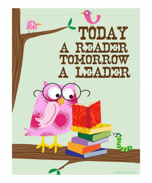 ... this Pink 'Today a Reader, Tomorrow a Leader' Print on zulily today
