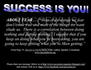 Recipe For Success Success Quote