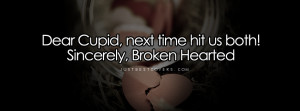 Dear Cupid Next Time Facebook Cover Photo