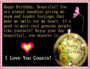 cousin birthday wishes happy birthday my candy land sister cousin