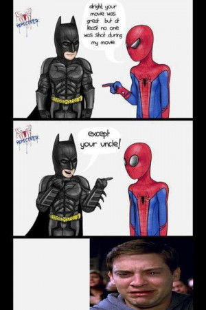 Spiderman And Batman Memes Batman spider-man funny