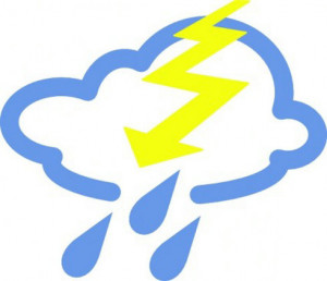 severe weather symbols clip art