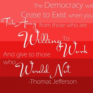 Thomas Jefferson quote,