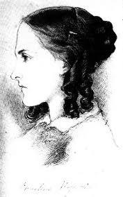 Christina Rossetti Sketch by Dante Gabriel Rossetti