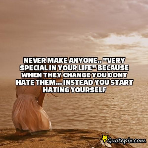 never make anyone..
