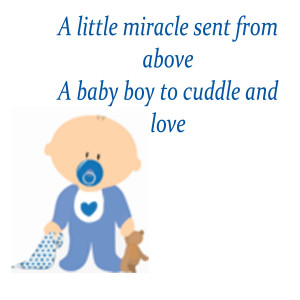 free to use them in invitations or birth announcements. These poems ...
