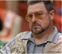 """... energy in to the tournament!"""" Walter Sobchak, The Big Lebowski"""