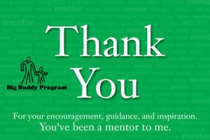 Thank Your Mentor Day January 17
