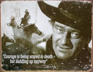 John Wayne...