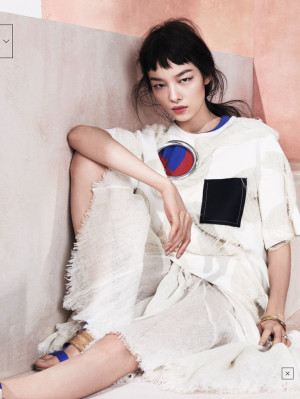 ... Styl, Hamza Editorial, Fei Fei Sun, Sun Fei, Vogue China, 4150 Vogue