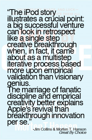 Great-by-Choice-quote-breakthrough-innovation Fanatic discipline and ...