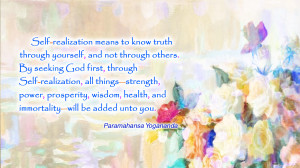Realization Quotes Self-realization mea.