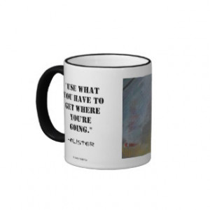 Pooter Scooter Quote Mug