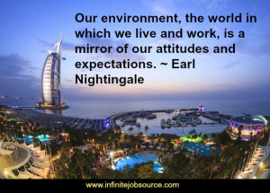 ... in the middle of your own 'acres of diamonds.' ~ Earl Nightingale