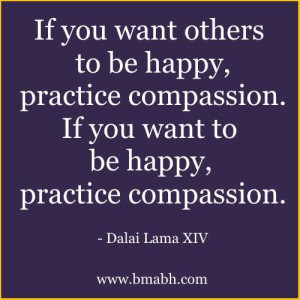 Dalai Lama Quotes On Compassion picture-If you want others to be happy ...