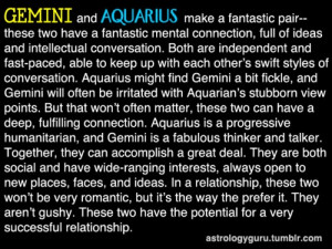 ... Gemini And Aquarius, Aquarius And Gemini, Gemini Aquarius, Aquarius