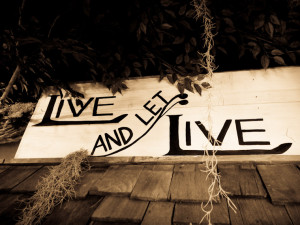 Live And Let Live Quotes