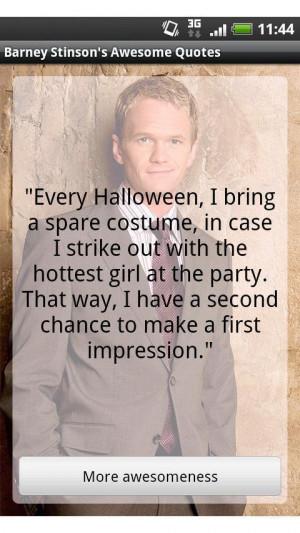 Barney Stinson's quotes Quotes