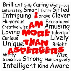 Aspergers (I love my nephew)