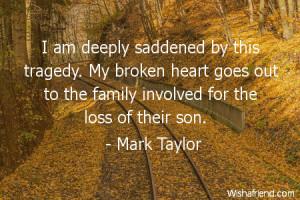 brokenheart-I am deeply saddened by this tragedy. My broken heart goes ...