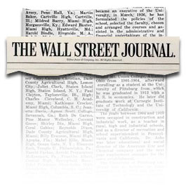 From The Wall Street Journal