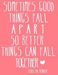 Wonderful #breakup quote... the