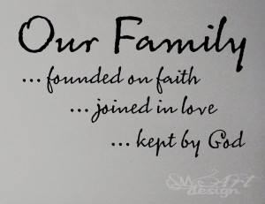 ... faith love god WALL DECAL LETTERING QUOTE HOME MODERN vinyl sticker