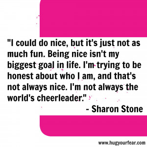 Tired Of Being Taken Advantage Of Quotes Sharon stone, quote, being