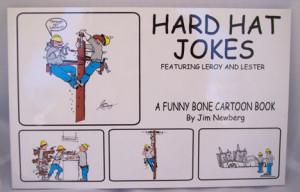 Hard Hat Jokes - A cartoon book with lineman cartoons!