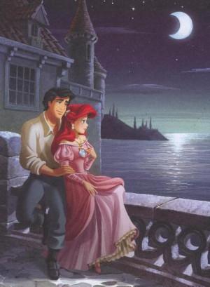 Disney Couples Ariel and Eric