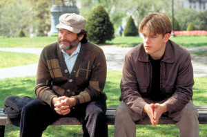 Robin Williams said his favorite scene from Good Will Hunting was when ...