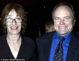 Clive Anderson with his wife Jane 39 My wifre would say my biggest