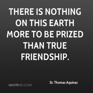 St. Thomas Aquinas Friendship Quotes